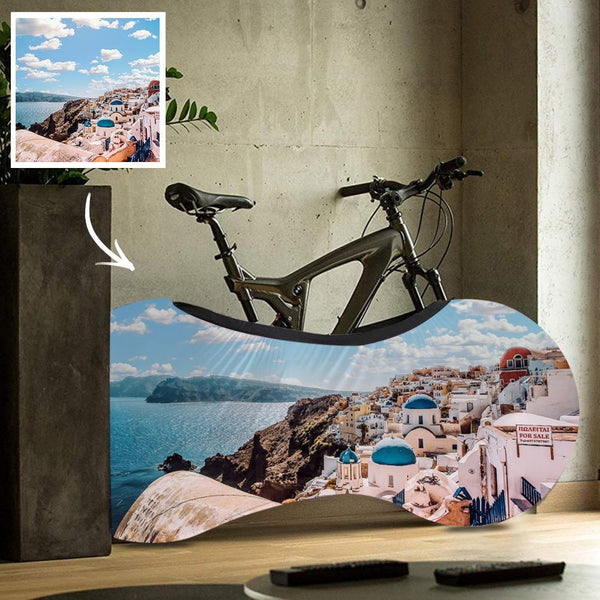 Personalized Bike Dust Covers Polyester Waterproof Portable Lightweight for Storage Photo Bicycle Cover Anti Dust Rain UV Protection - Scenery 1