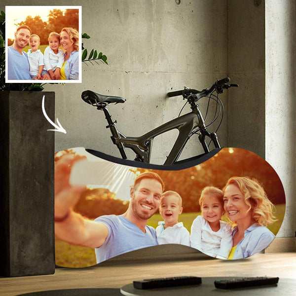 Personalized Bike Dust Covers Polyester Waterproof Portable Lightweight for Storage Photo Bicycle Cover Anti Dust Rain UV Protection - Family