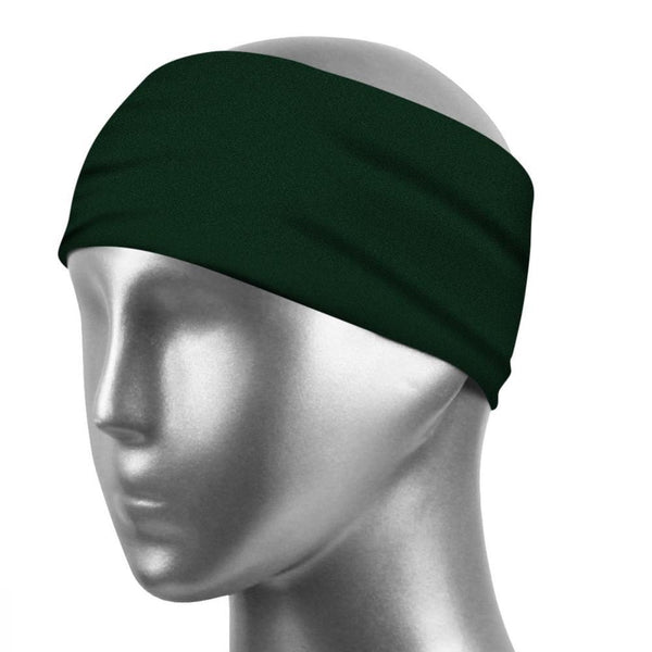 Sports Sweatband Suitable For Running And Yoga Sweatband For Dark Green