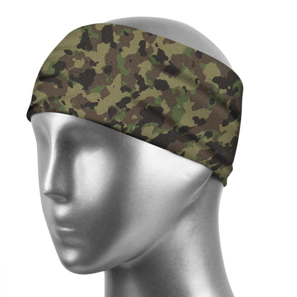 Sports Sweatband Unisex Wicking Fabric Sweatband  For Camouflage