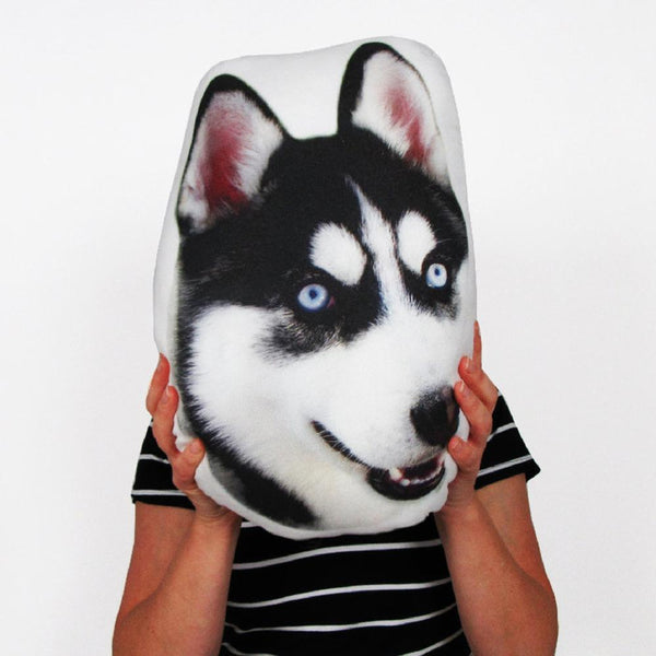 Husky Face Pillow Gifts For Dog Lovers Memorial Gifts