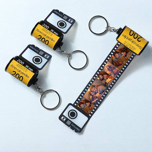 Photo Keychain Personalized Photo Keychain Multiphoto Camera Roll