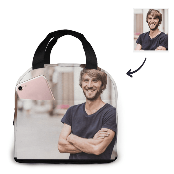 Custom Lunch Bag With Photo Custom Insulation Bag With Zipper