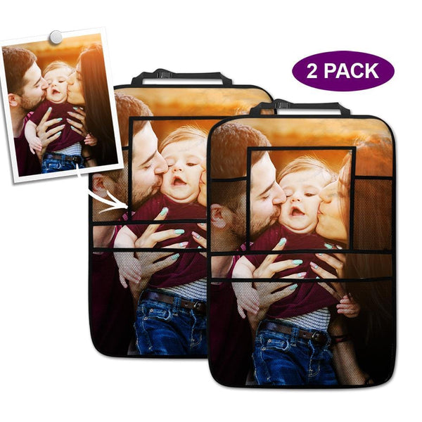 Personalized Car Accessories Backseat Storage Bag 2pcs