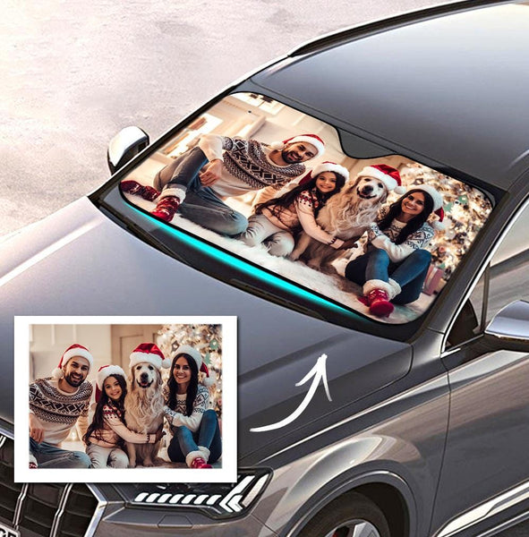 Car Accessories Custom Sun Shade Windshield for Dad