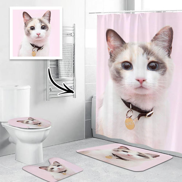 Custom Bathroom Set Waterproof Bathroom Decor Gift For Her
