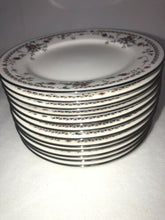 Load image into Gallery viewer, Noritake Ivory China 7237 Adagio Fantastic Condition 12 Bread Plates 6.25""