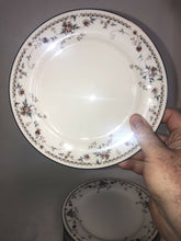 Load image into Gallery viewer, Noritake Ivory China 7237 Adagio Fantastic Condition 13 Dessert Plates 8.25""