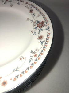 Noritake Ivory China 7237 Adagio Fantastic Condition 12 Bread Plates 6.25""