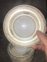 "Load image into Gallery viewer, Noritake Bancroft Made In Japan Bread Plates Lot Of 11, ""5481"" 6.25"" Across"