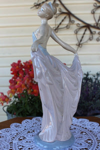 "LLadro Hand Made Spain Porcelian Figurine ""Dancer"" 5050 Perfect Condition Large"