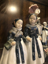 Load image into Gallery viewer, Royal Copenhagen Figures To Maidens With Pale About 7.5 Inches Perfect 1940s