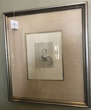 Load image into Gallery viewer, Fine Art Nice Edgar DEGAS Etching Mlle Nathalie Wolkonska Framed COA Park West Galleries