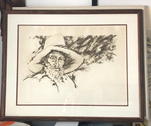 Fantastic Numbered & Signed Lithograph AP 111/XX  Leonard Zane Garon American b. 1945