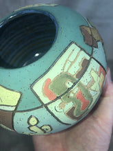"Load image into Gallery viewer, Contemporary Art Pottery Artist Marty Ray Dallas TX Storytelling Line ""Art Talk"""
