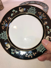 "Load image into Gallery viewer, Fitz & Floyd CHINOISERIE Bread Plates 6.5"" Across FF41 (1978)"