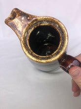 "Load image into Gallery viewer, Vintage Hull Brown Glazed Ovenproof USA 11"" Coffee Pot Pitcher Lid Drip Ware"