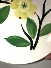 "Load image into Gallery viewer, Vintage Blue Ridge Pottery Dixie Dogwood Pattern 2 - 8.25"" Bowls"