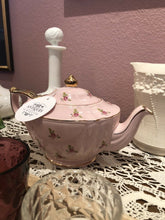 Load image into Gallery viewer, Antique Sadler Teapot Pink Rosebuds Perfect Made in England Pre 1927 Gift