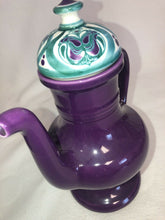 Load image into Gallery viewer, Rare Majolica Schramberg Ger. Violetta Cir 1915 Art Nouveau Tea Pot With Lid