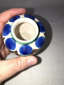 Allgauer Keramik Handarbeit - Beautiful Hand Painted, Handmade Ceramic Bud Vase