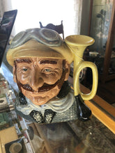 "Load image into Gallery viewer, VINTAGE 1972 ROYAL DOULTON CHARACTER TOBY Mug Jug "" VETERAN MOTORIST"" D6633 8"""