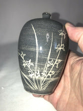 "Load image into Gallery viewer, Unmarked Asian Studio Art Pottery Bud Vase 5.5"" Tall"