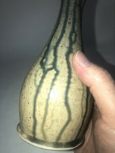 Load image into Gallery viewer, Unidentified Vintage Studio Art Pottery Vase Signed Stoneware 7.5 Tall Nice