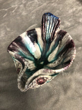Load image into Gallery viewer, Mid Century ITALIAN ART POTTERY Multicolor FISH SHAPE DISH BOWL ~ ITALY Eames