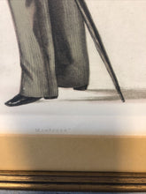 Load image into Gallery viewer, Antique Vanity Fair Apr 25th 1885 Lithograph Spy Series Statesmen #462 Baxter