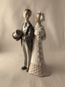 Wedding Couple - Lladro Perfect Gift Christmas Wedding Anniversary Look