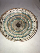 "Load image into Gallery viewer, Vintage Hand Painted Mexican Terra-cotta Decorative Plate 10.5"" Great Design"