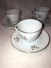 Load image into Gallery viewer, Royal Duchess Fine China Bavaria Germany Mountain Bell 3 Cup & Saucer Sets