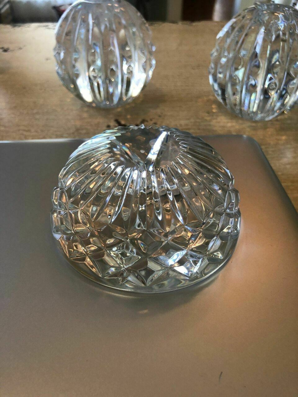 Waterford Crystal Paper Weight Perfect Gift Christmas