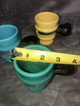 Load image into Gallery viewer, Lot of 3 Vintage Metlox Poppytrail Series 200 Mugs Cups with Wooden Handles