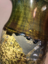 Load image into Gallery viewer, Vintage Studio Art Pottery Signed Akins Dated 1994 Lot Of 2, Fantastic Glazes