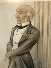 Load image into Gallery viewer, Antique Vanity Fair Nov 5th 1887 The Grand Old Man Lithograph Spy Series