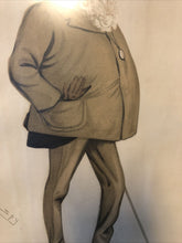 Load image into Gallery viewer, Antique Vanity Fair May 5 1888 Litho Spy Series Statesman Viscount Combermere