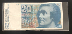 Switzerland - 20 Francs Banque National Suisse