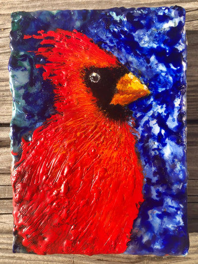 Red Cardinal: #10 Ebay Auction 100% of sale goes to Charity: Water