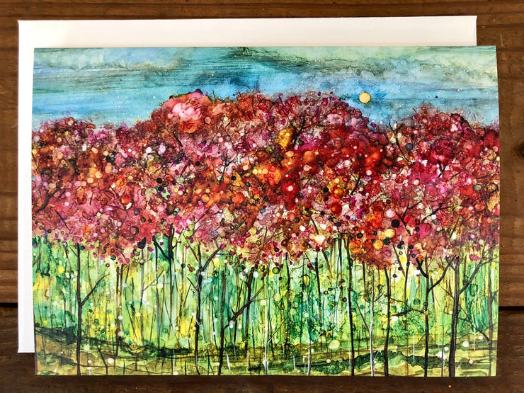 Spring Forest : Greeting Card