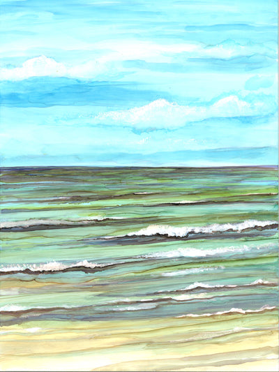 Calm Seas : Greeting Card