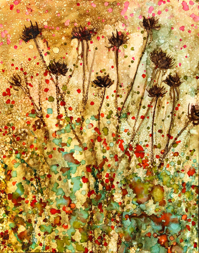 Dried Flower Pods : Prints