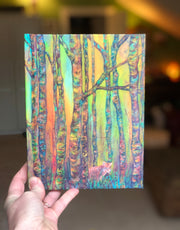Fox in the Woods, Hard Cover Journal