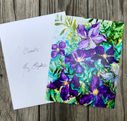 Purple Clematis : Prints
