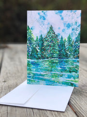 Peace & Joy : Greeting Card