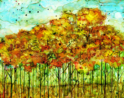 Autumn Forest : Greeting Card