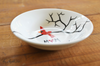 Cardinal Red Bird Personalized Ring Dish