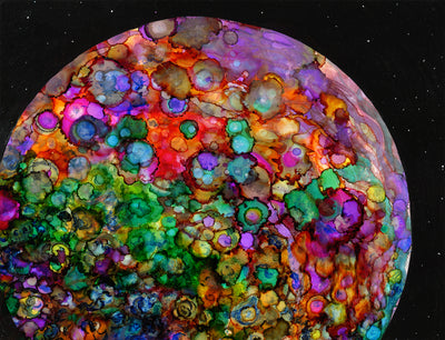 Colorful Planet : Prints