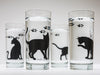 Cat and Paw Glassware - 4 Piece Collection